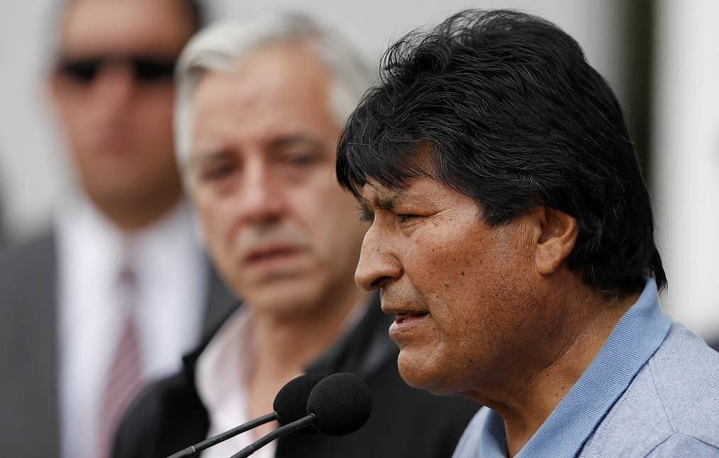 USA suggests Morales should step aside from Bolivia vote
