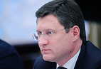 Russia's Energy Minister Alexander Novak