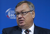 CEO of Russia's VTB bank Andrey Kostin