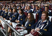 Russian paralympic athletes