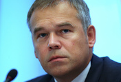 Deputy governor of the Russian Central Bank Vasily Pozdyshev