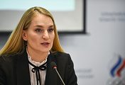 Russian Olympic Committee athletes' commission chair Sofya Velikaya