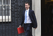Newly appointed British foreign secretary Jeremy Hunt