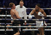 Alexander Povetkin and Anthony Joshua