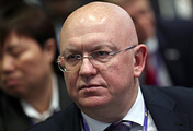 Russian Permanent Representative to UN Vasily Nebenzya