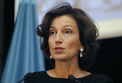 UNESCO'S Director-General Audrey Azoulay
