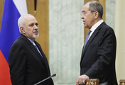 Iranian Foreign Minister Mohammad Javad Zarif and Russian Foreign Minister Sergey Lavrov