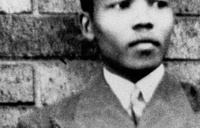 Nelson Mandela was born on July 18, 1918 in Mvezo, British South Africa. Photo: Nelson Mandela in Umtata at the age of 19