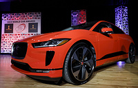 Jaguar I-PACE was awarded the 2019 World Car of the Year Award during the 2019 New York International Auto Show