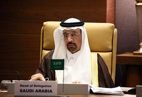 Saudi Arabia's Minister of Energy, Industry and Mineral Resources Khalid Al-Falih
