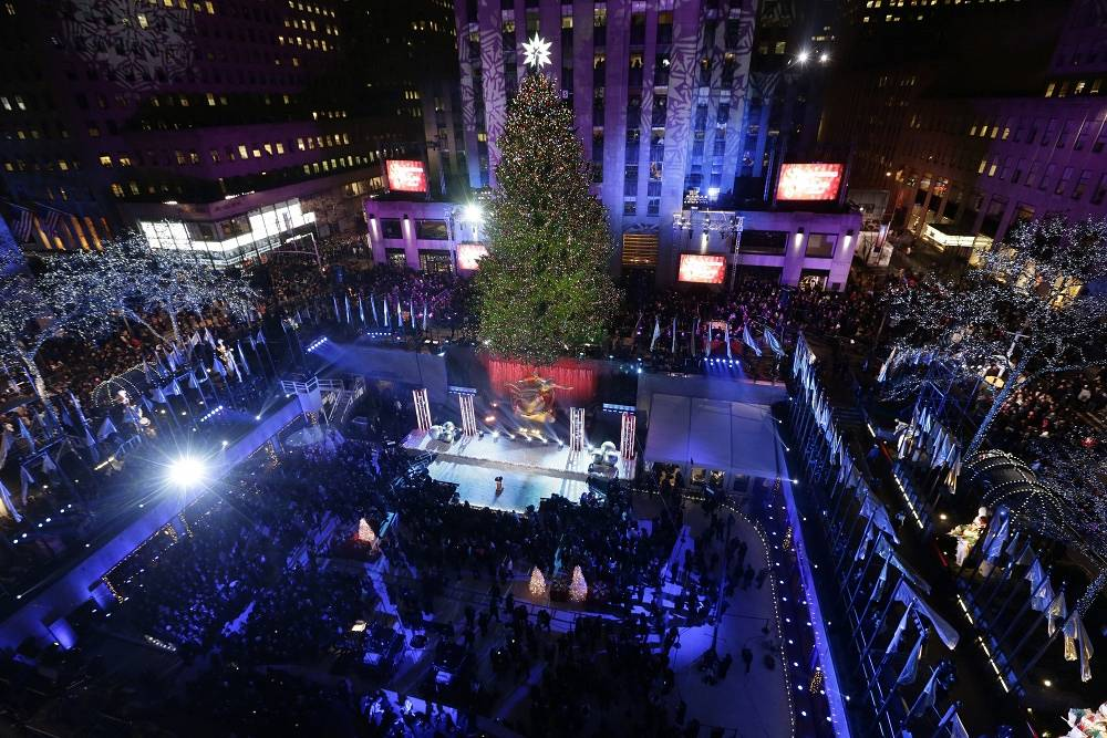 Christmas tree in New York