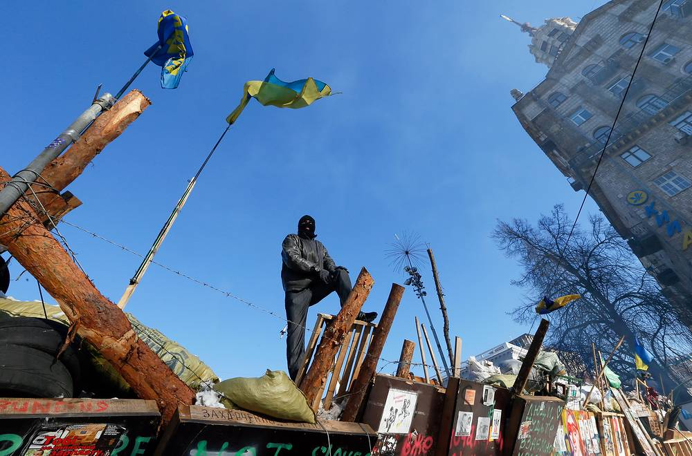 Kiev and other cities in Ukraine have been riled by often violent street riots since late November 2013