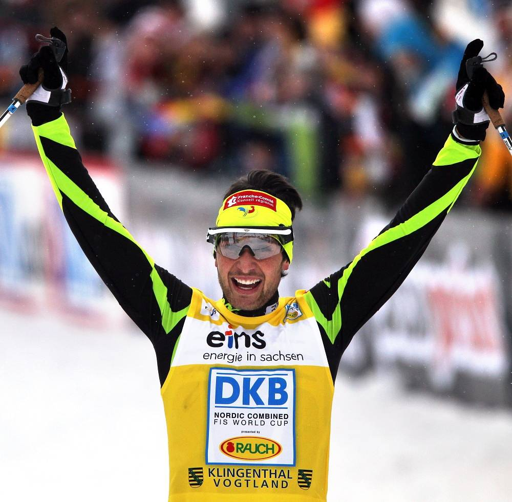 A Nordic combined star Jason Lamy-Chappuis will be the flag bearer for France