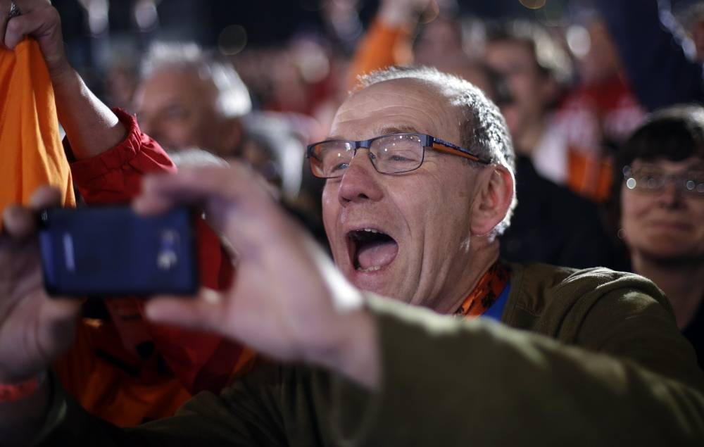 Father of Dutch speed skater Stefan Groothuis, who won gold in men's 1000 meters