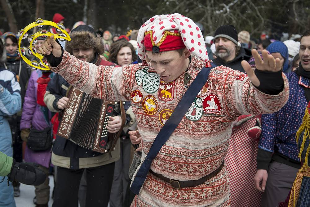 Maslenitsa also includes lots of entertaining activities