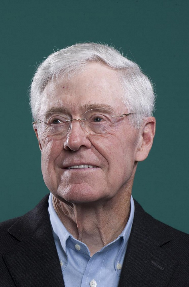 American businessman, chief executive officer of Koch Industries Charles Koch, $40 bln