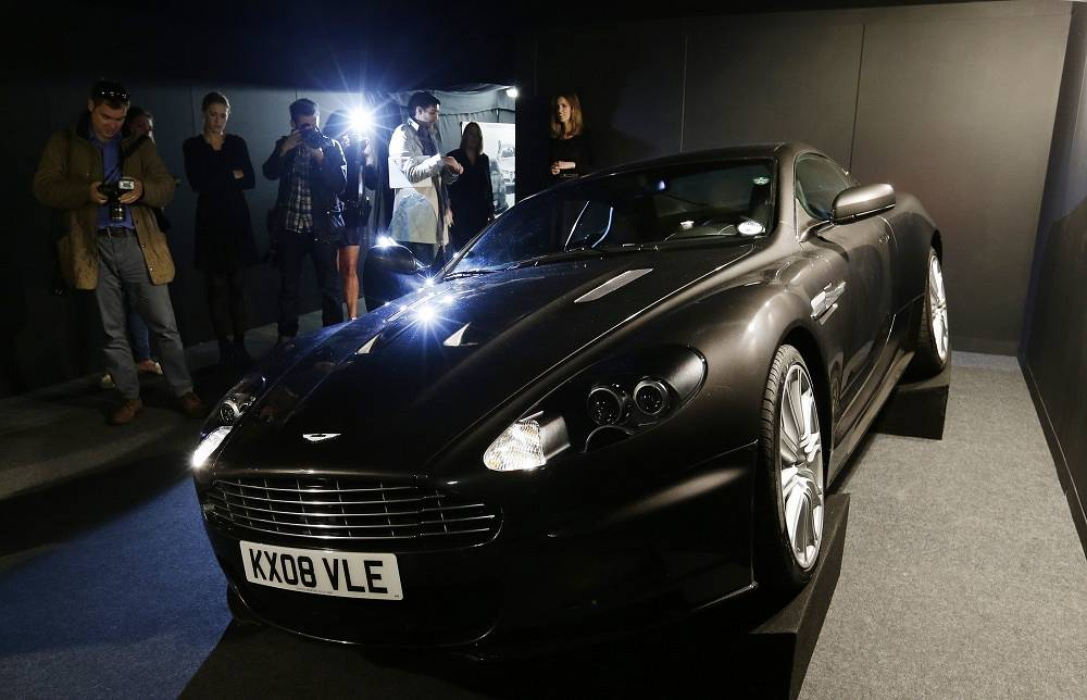 Aston Martin DBS (Quantum of Solace, 2008)