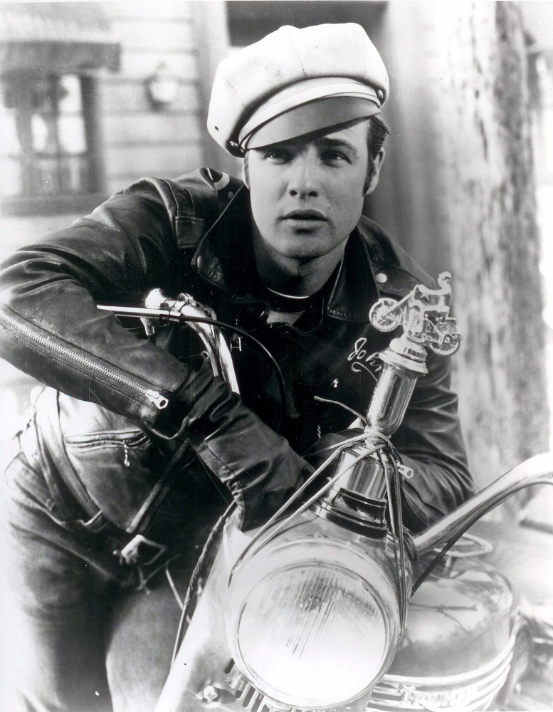 Brando's role in 'The Wild One' (1953) has played a great role in the promotion of biker movement