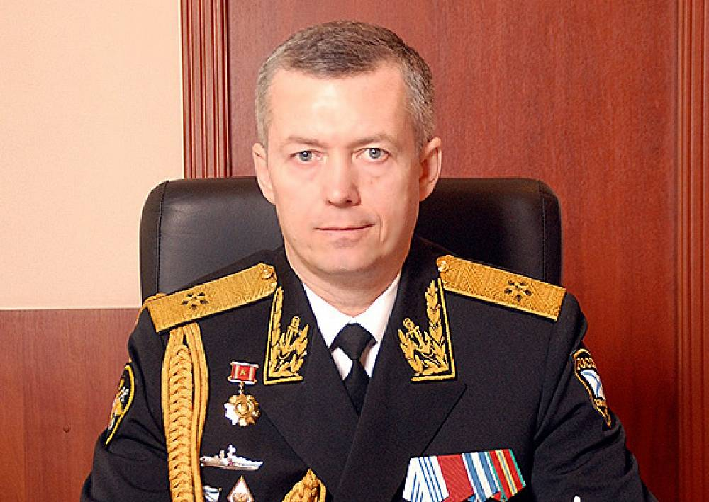 Deputy Commander in Chief of the Russian Black Sea Fleet Alexander Nosatov