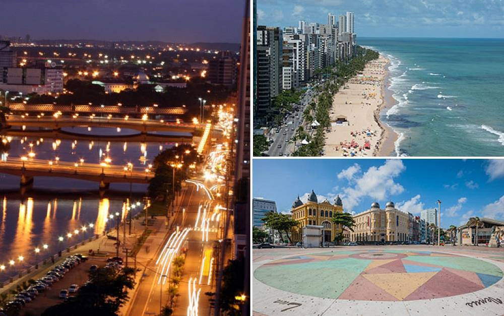 Recife is one of the main economic centers of Brazil. Founded in 1561, it has a population of 1,6 mln. The city is often called Brazilian Venice for its marvellous architecture