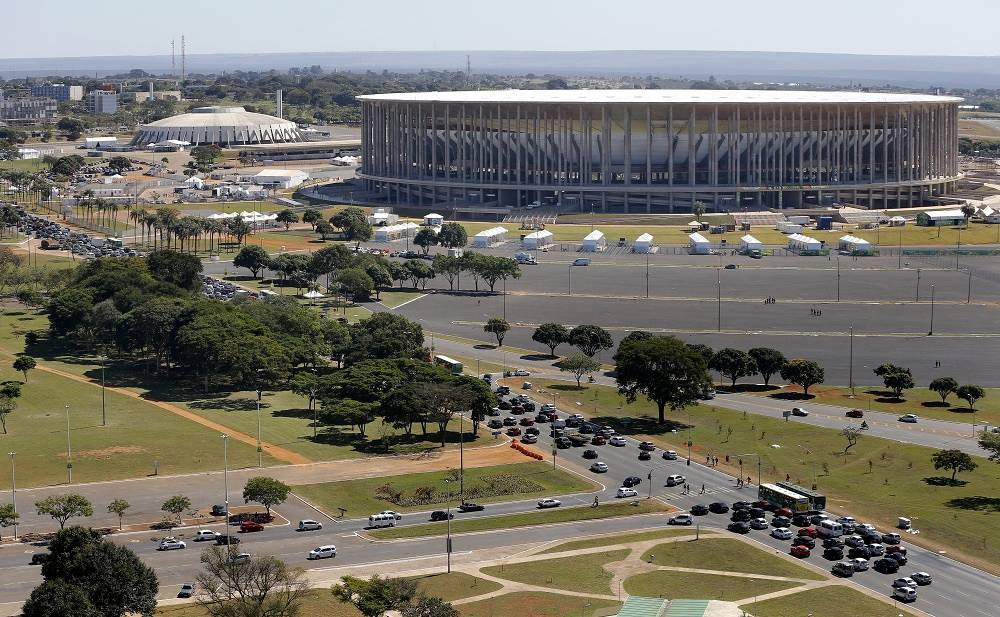 The stadium in Brasilia was opened in 1974. In 2010 the old stadium was demolished and the construction of a new one was started, with a capacity of 71,000 people