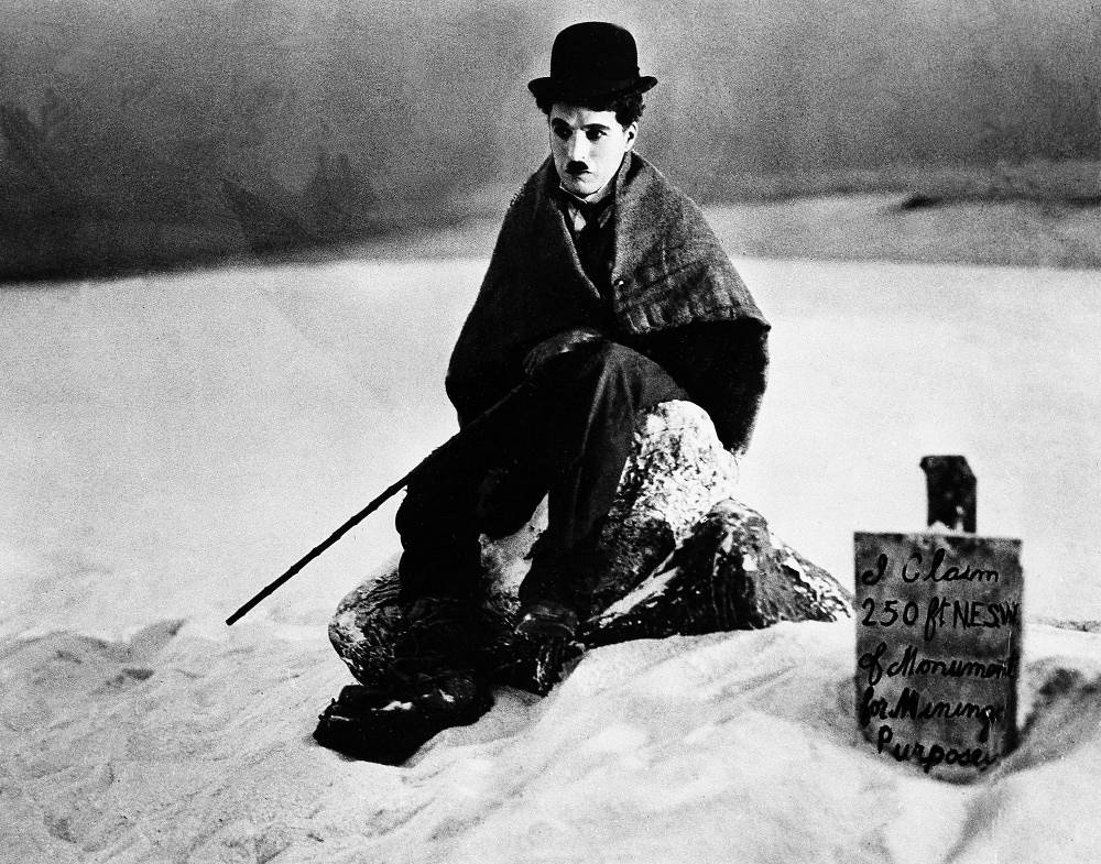 Charlie Chaplin in 'Gold Rush' (1925)
