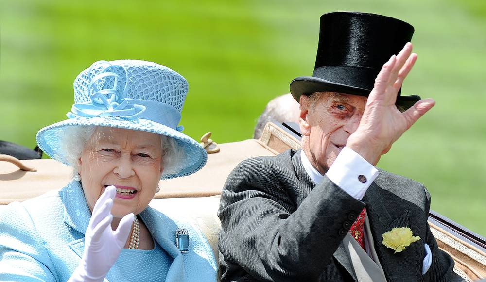 Queen Elizabeth II and her husband Prince Philip, Duke of Edinburgh