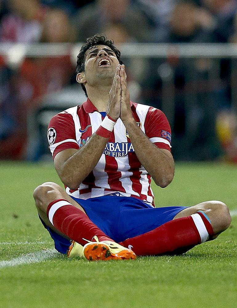 Atletico Madrid's striker Diego Costa