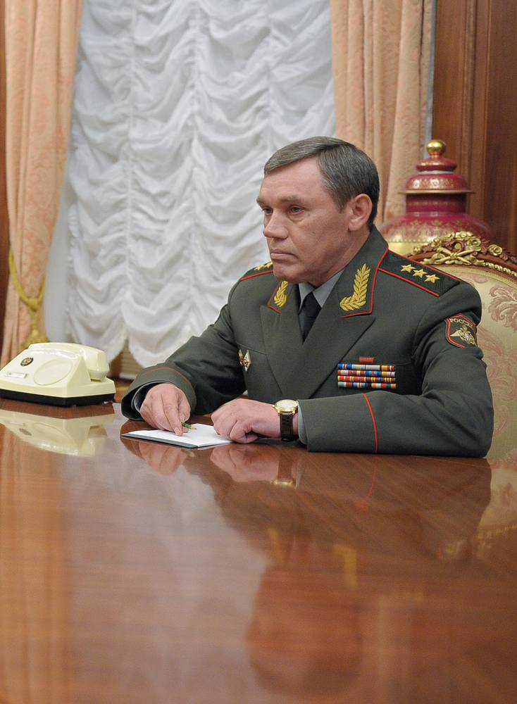 Head of the General Staff of the Russian Armed Forces Valery Gerasimov