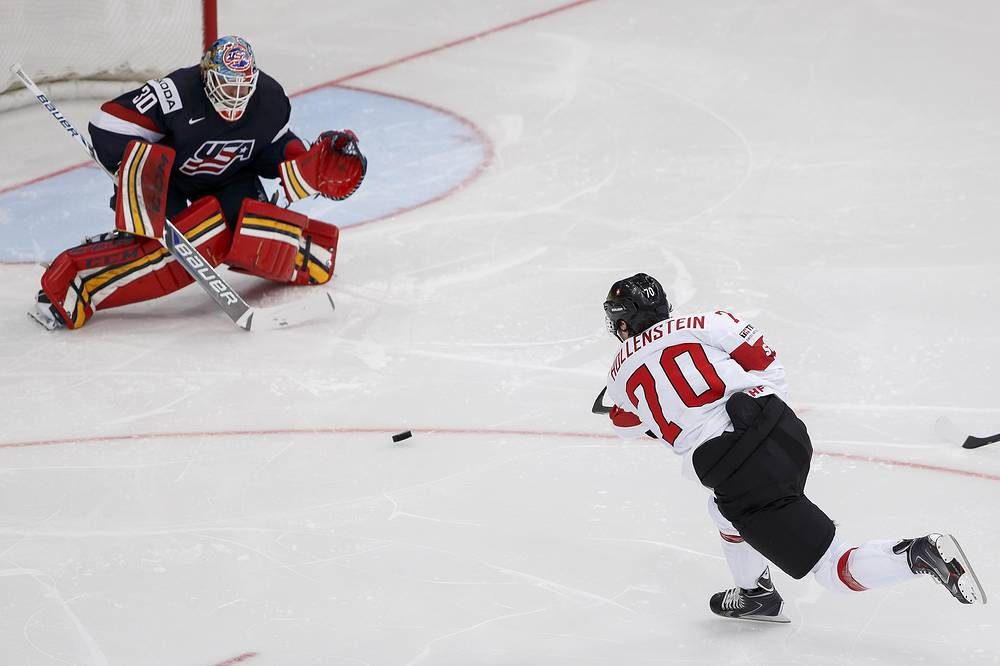 USA beat Switzerland 3:2 in their Preliminary Round Group B on May 11