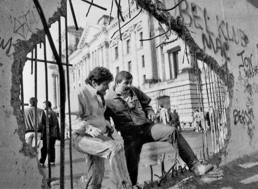 In the late 1980's East Germans started mass emigration through Hungary. The wall lost its significance and was demolished. The date on which the Wall fell is considered to have been 9 November 1989