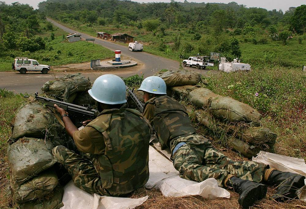 Mission in Liberia. The Second Liberian Civil War lasted from 1999 to 2003 and according to different estimates left over 150,000 - 300,000 people dead