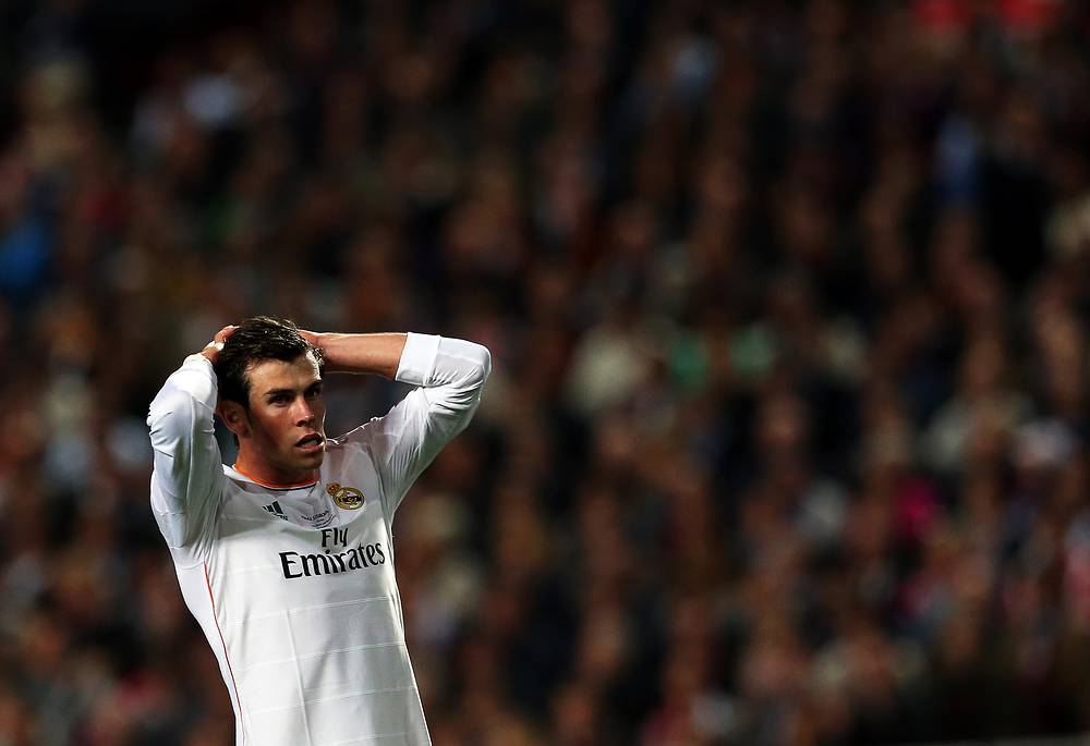 Real Madrid's Gareth Bale plays for the Wales national team, which hasn't qualified for the World Cup this year