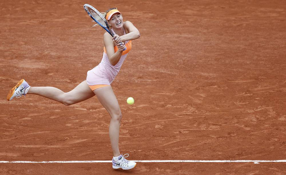 Maria Sharapova advanced to quaterfinals after a 3-6, 6-4, 6-0 win over Australia's Samantha Stosur