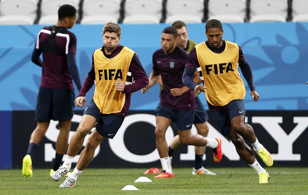 England national team training session