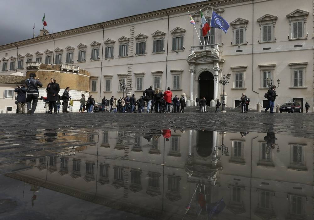 The Quirinal Palace in Rome - the resident of Italy's president - can be visited every Sunday from 8:30 to 12:00 local time
