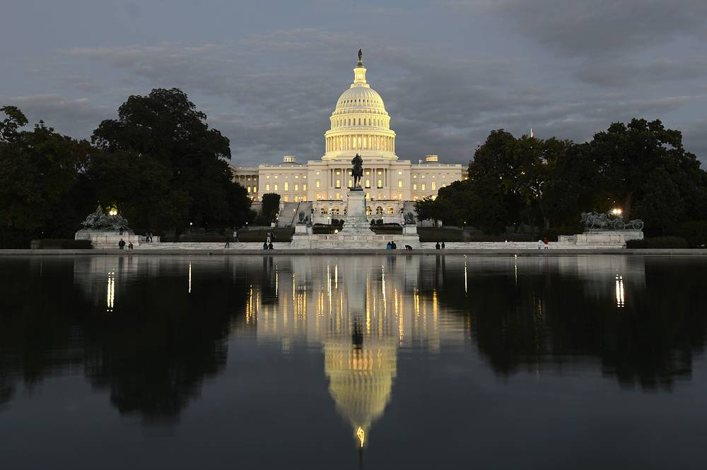 US Capitol building is the seat of the US Congress and a widely recognized symbol of the US