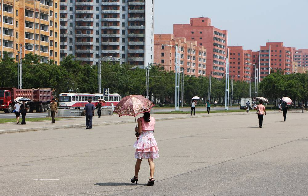 The climate in Pyongyang is continental: cold in winter and hot in summer