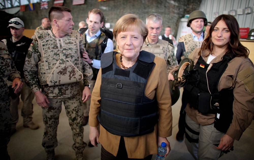 German Chancellor visits Afghanistan in 2013