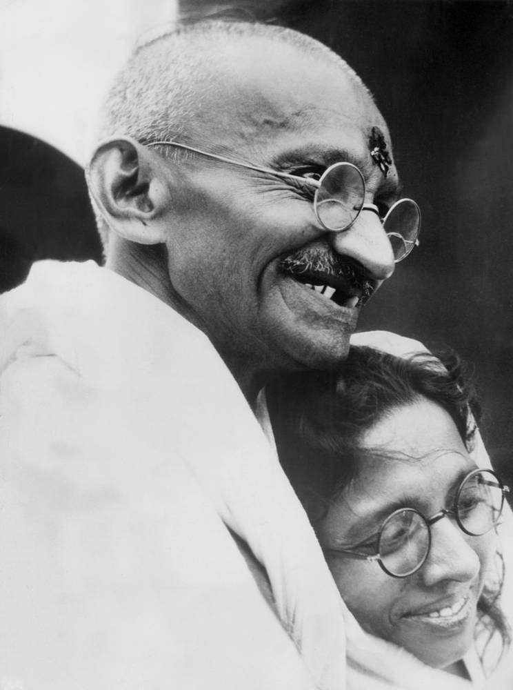 Gandhi not only fought for India's independence from Britain, he also led campaigns to ease poverty, expand women's rights. Mahatma Gandhi was against the caste system