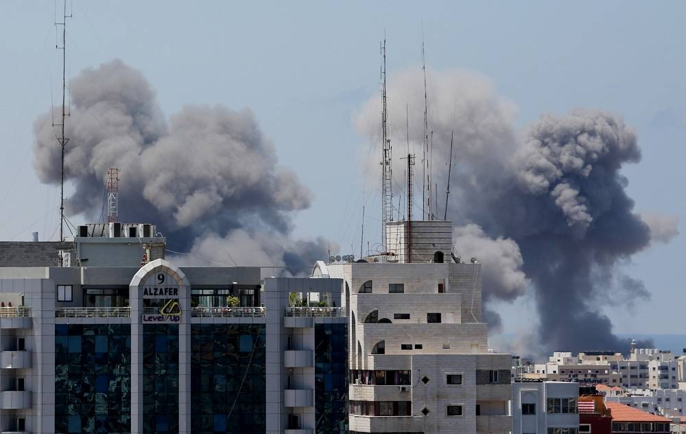 Over 240 people have been killed and about 1,800 have been wounded as a result of Israeli airstrikes
