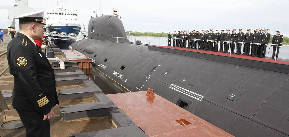 Yasen-class nuclear attack submarine Severodvinsk. The Russian Navy plans to have two Yasen-class submarines in service by 2015