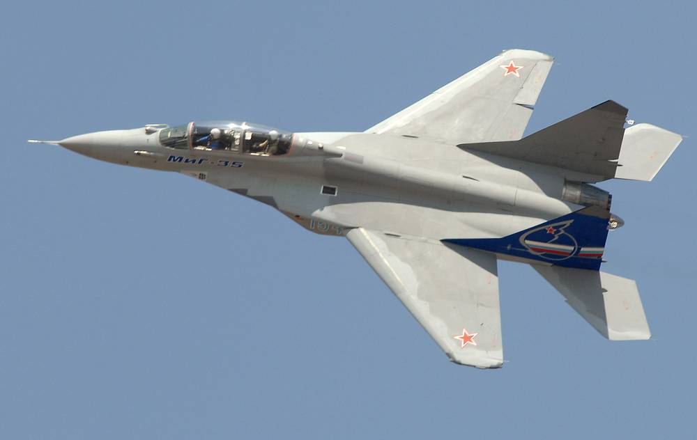 The Mikoyan MiG-35 is a 4++ generation jet fighter. At present, MiG-35 is regarded as a transitional stage to the fifth generation fighter