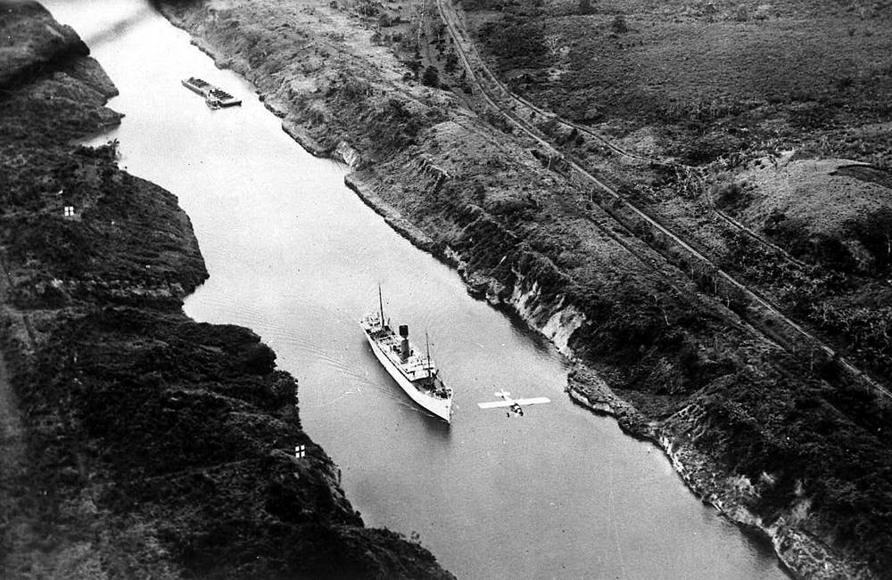 The Panama Canal was opened in 1914