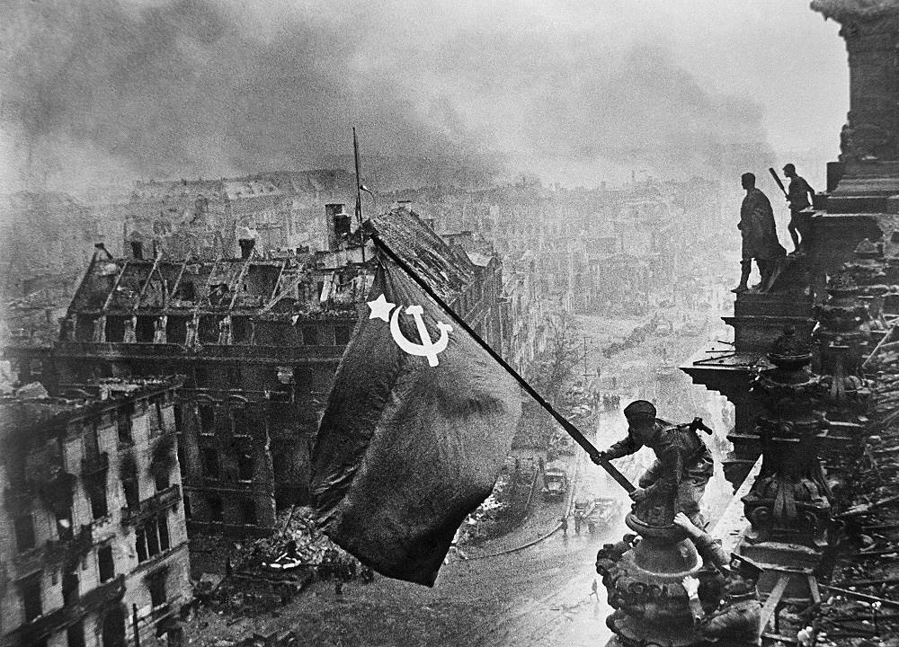 Victory Banner over Berlin, 1945