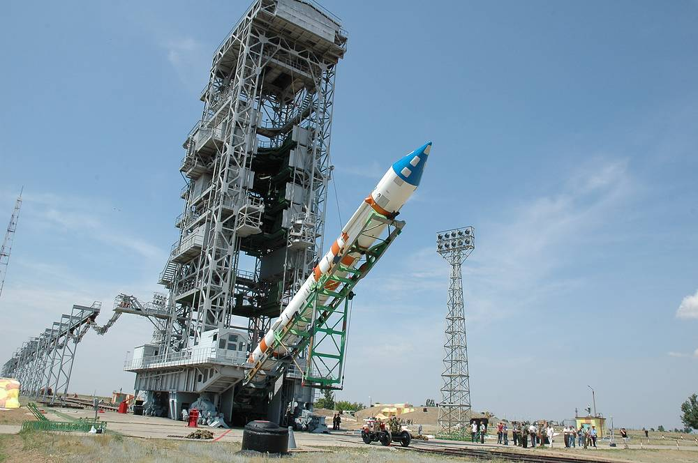 Kapustin Yar launch facility located in Russian Astrakhan region began to function as a cosmodrome in 1962. Now it is more used for launches of test rockets for the Russian military. Photo: Kosmos 3M before the launch at the Kapustin Yar