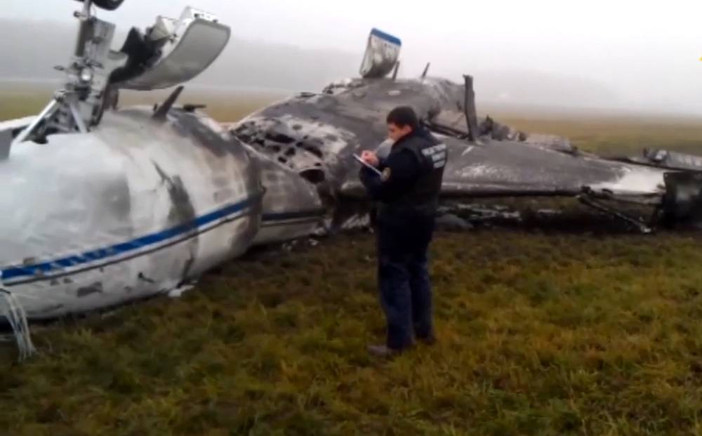 Russian investigators accused senior airport officials of criminal negligence over a fatal accident