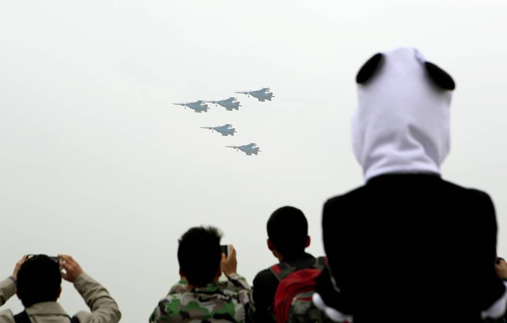 Chinese city of Zhuhai, Guangdong Province, hosts a major international Air Show China 2014