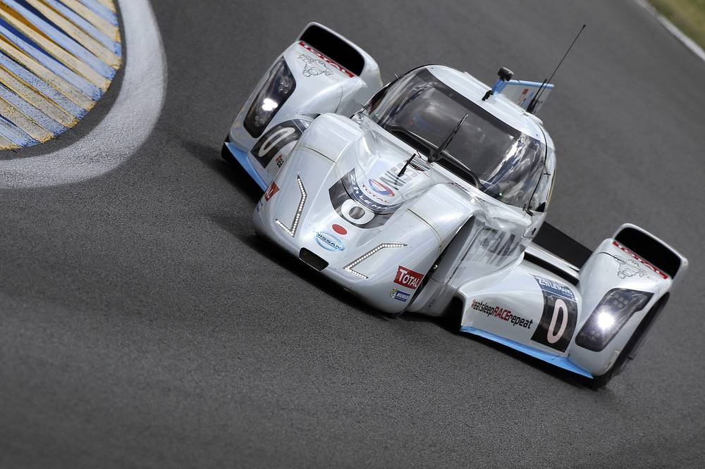 Nissan ZEOD RC with electric engine at Le Mans 24 Hours race in France, 2014