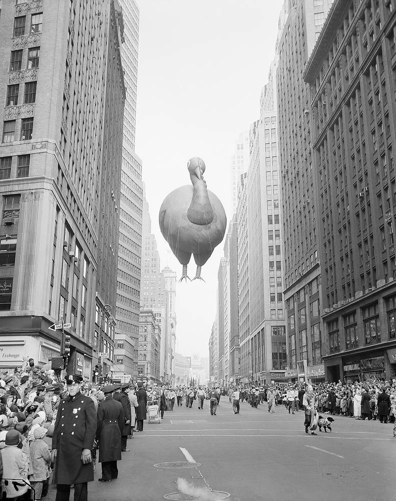 31st annual Macy's Thanksgiving Day Parade in 1957